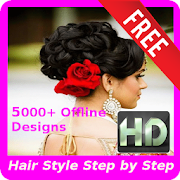 Girls Hairstyles Hd Step By Step Offline   Apk Download Android Cats Beauty Apps