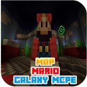 Map Mario Galaxy For MCPE 1.1