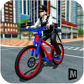 Police Chase - The Cop Bicycle Rider 1.0