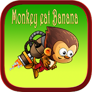 Monkey banana jump adventure