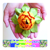 8b7b7a619 Origami Flowers Instruction 7.2.1 APK Download - Android Education Apps