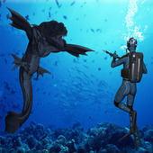 Spearfishing Monster Attack 1.0.0