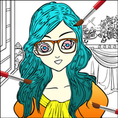 Beauty Fashion Model Color Book 1 0 3 APK Download - Android