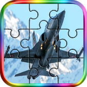 Plane Jigsaws Puzzle Game