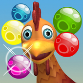 Bubble Shooter Chicka Rescue 1.2