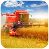 Wheat combine harvester Jigsaw 1.0