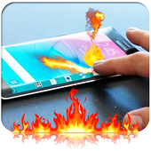 Fire Screen Touch Prank 1.0