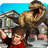 Dinosaur Attack City Hunting 2.0