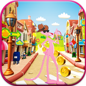 Panter Skater In Pink World 1.0