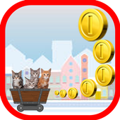 Mew Mew Cat Trolley Game Free 1.0