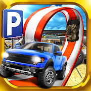 3D Monster Truck Parking Game 2.0