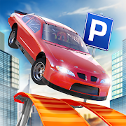 Roof Jumping Car Parking Games 1.1