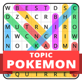 Word Search Topic For Pokemon 1.0.0