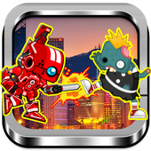 Red Rangers Robot VS Zombies 1.0.3