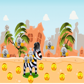 Adventure Zebra Running 1.0