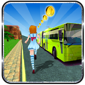 Subway Princess Bus Rush Run 1.0