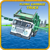 Flying Garbage Truck Driver 3D 1.0.2