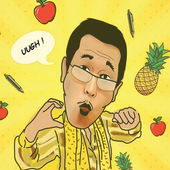 ♥ PPAP Jump Up : Pineapple Pen