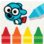 Kids Coloring Game — Russpuppy