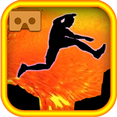 VR Lava Jumping for Cardboard 1.3