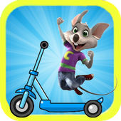 chuck e cheese scooter games 4.2