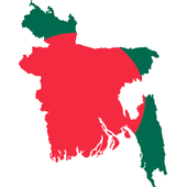 Map of Bangladesh -  মানচিত্র 0.0.1