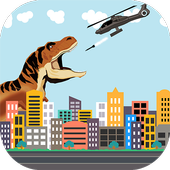 Dinosaur vs Helicopter Battle 2.0.3
