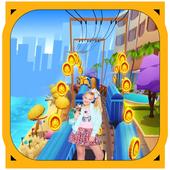 Jojo Siwa Adventure Run candy world Princess 3.25
