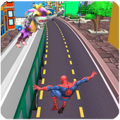 Subway Spider-Run Adventure Superhero 1.1