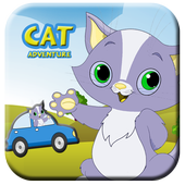 Cat Adventure - Racing Animal Car 4.0