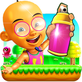Subway Upin racing Ipin 1.0