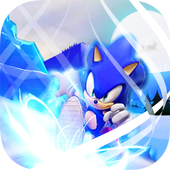 Supe Sonic Temple Blue World Runner adventure jung