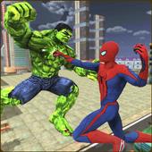Monster Hero vs Flying Spider City Battle 1.0.2