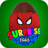 Surprise Eggs Spider 4.6