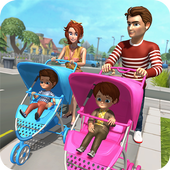 New Baby Twins Virtual Mother Family Fun Simulator 1.0
