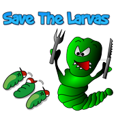 Tap Caterpillar Save The Larva 2.0