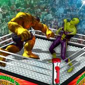 Monster Hero VS Flying Spider Ring Battle Heroes