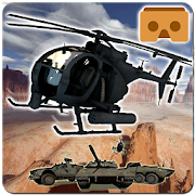 3D Helicopter Race VR Game 2.0