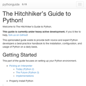 python guide