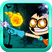 RobinMan Fight BomBs TiTans Go 1.1