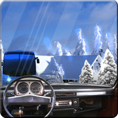 Offroad Snow Hill Bus Drive 3D 1.3