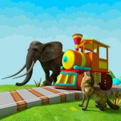 Learn Animals Train For Kids 1.2