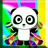 Panda Eating Candy - HD 3.0.1