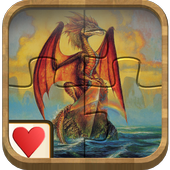 Jigsaw Solitaire - Dragons 1.0