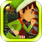 3D Christmas Elf Run Game FREE