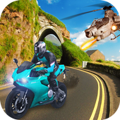Gunship Attack Bike Racer 🏍 1.1