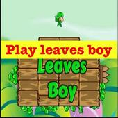 Play leaves boy 1.0