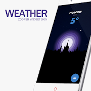 Weather Zooper Widget Skin 1 0 APK Download - Android