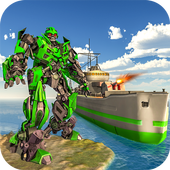 WW2 Naval Battleship Robot Transform Sea Battle 1.0.4