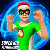 Green Flying Hero Crime Battle 2017 1.0